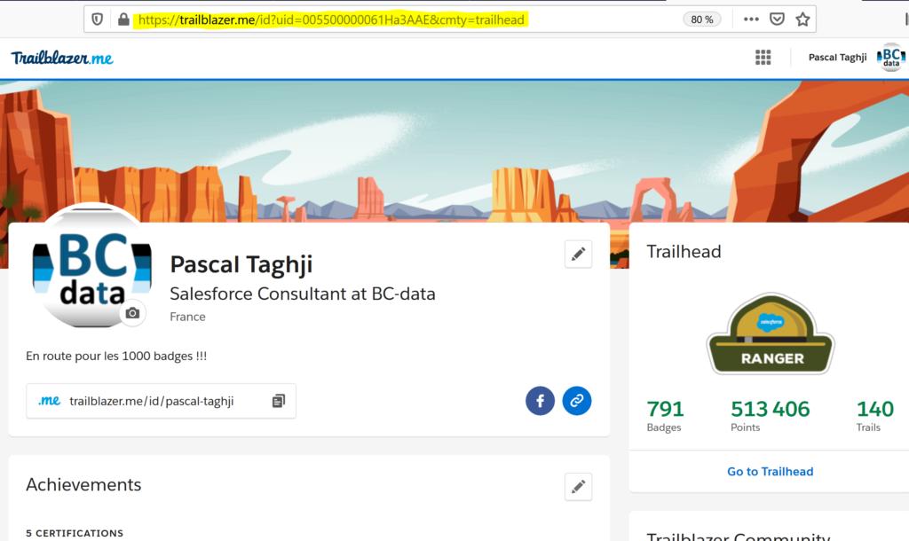 Profil Trailhead Pascal Taghji